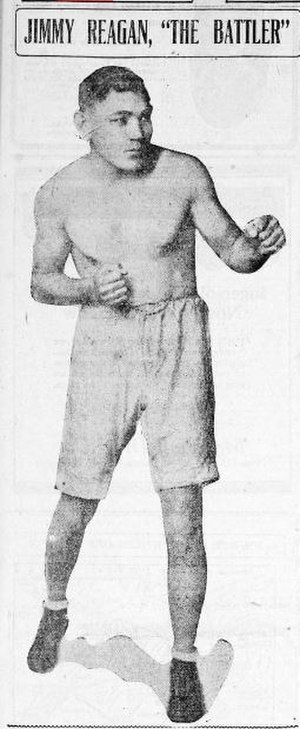 Harry Harris (boxer) - Jimmy Reagan, 1909 Bantamweight Champion