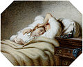 Johann Georg Meyer von Bremen Schlafendes Geschwisterpaar 1851.jpg