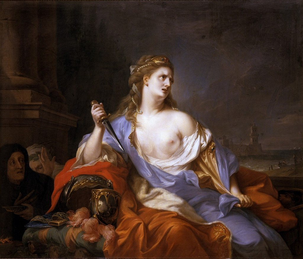 Johann Heinrich Tischbein - Dido on the Pyre, 1775