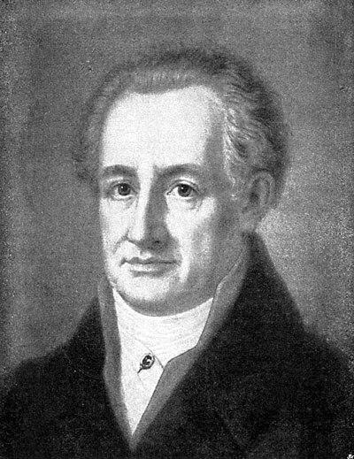 Johann Wolfgang Goethe 1811