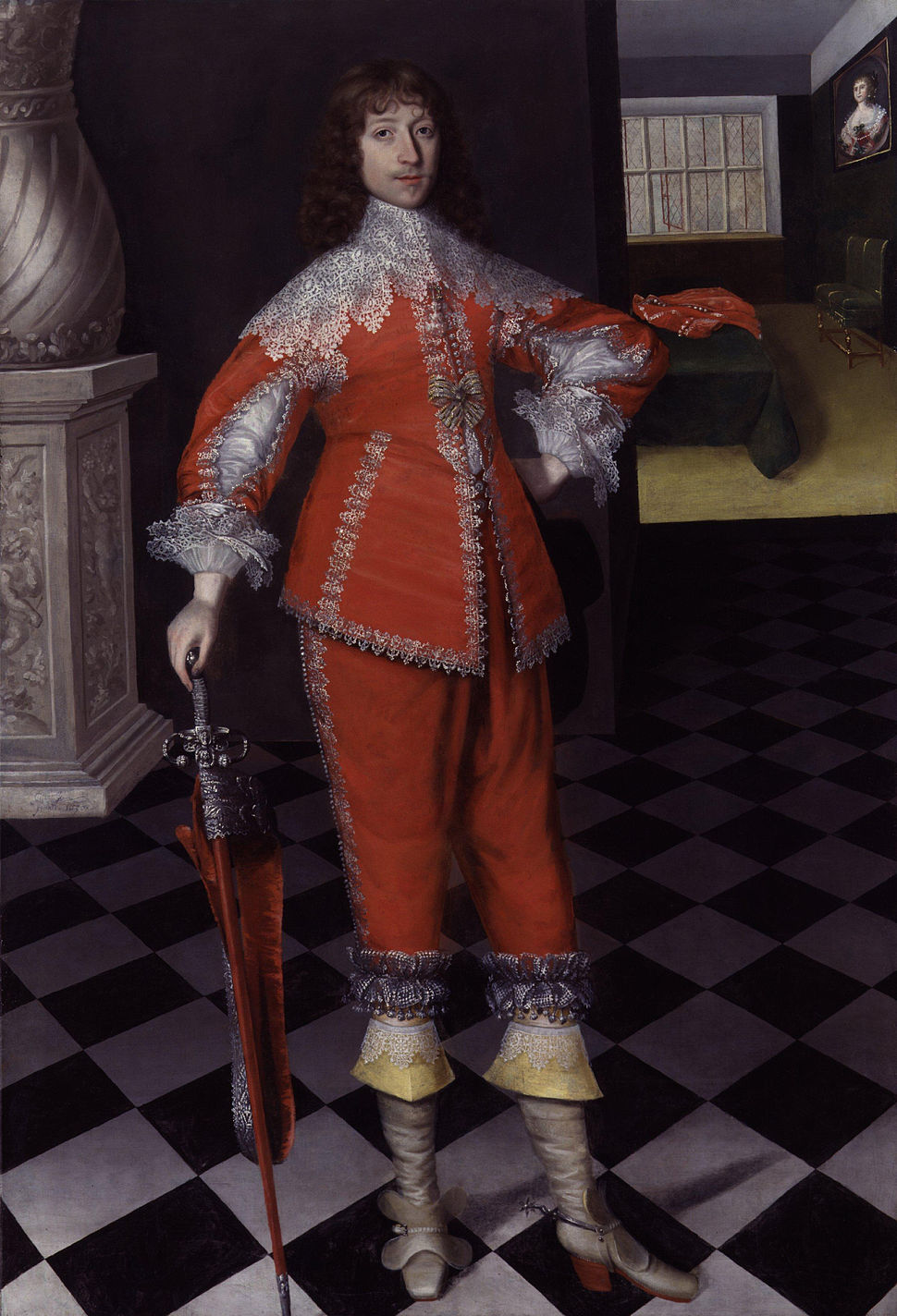 John Belasyse (Bellasis), 1st Baron Belasyse of Worlaby by Gilbert Jackson