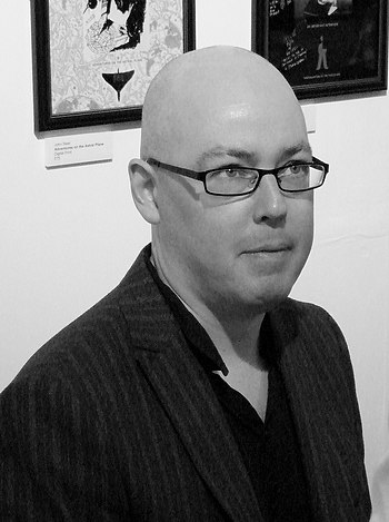 English: John Boyne at the Humber Mouth festival