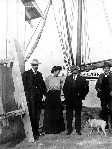 John Cobb aboard ship, location unknown, nd (COBB 328).jpeg
