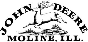 John Deere - Company logo used between 1876 and 1912