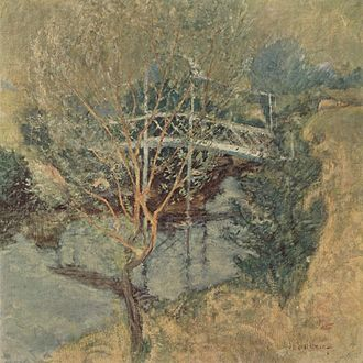John Henry Twachtman - The White Bridge, c. 1895, Minneapolis Institute of Arts