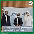 John Kerry, Francesco La Camera and Sultan Ahmed Al Jaber in Abu Dhabi - 2021.jpg