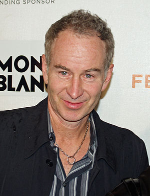 The Head and the Hair - John McEnroe played himself in this episode as the host of the game show Gold Case.