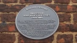 John riley holt plaque