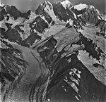 Johns Hopkins Glacier, tidewater glacier, hanging glaciers and mountain glacier, August 26, 1979 (GLACIERS 5530).jpg