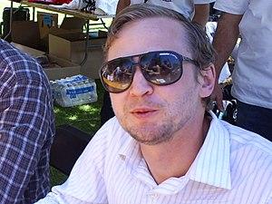 Eve 6 - Guitarist Jon Siebels in 2012.