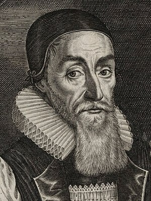 Joseph Hall (bishop) - Joseph Hall, detail of an engraving by John Payne, 1628