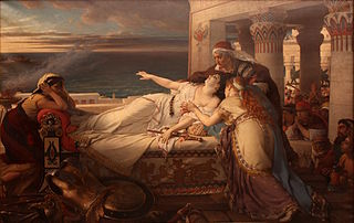 Death of Dido by Joseph Stallaert