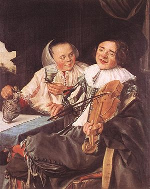 Judith Leyster - The Happy Couple by Leyster, 1630 (Louvre)