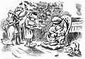 Julegilde hos en velstaande paddefamilie - Christmas feast of a wealthy toad family.jpg