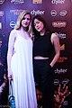 Julia Hart and Brit Marling red carpet Fantastic Fest 2015-9852 (27366797111).jpg