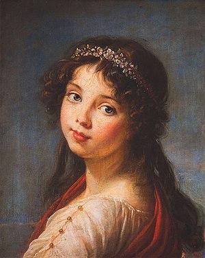 Julie Le Brun - Julie Lebrun in 1789