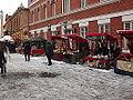 Julmarknad på Gamla Stortorget 2014 hantverksstånd.JPG