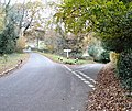 Junction of Spronkett's Lane and Minor road to E near Colwood, West Sussex - geograph.org.uk - 86454.jpg