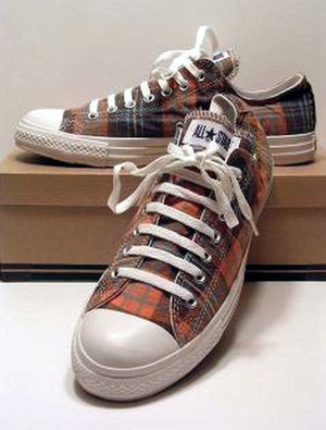 Junya Watanabe - One of Junya Watanabe's designed Converse shoes.