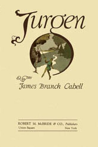 James Branch Cabell - Dust jacket of Jurgen, A Comedy of Justice