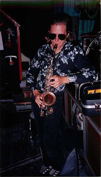 Justin Trosper - Image: Justin Trosper saxophone