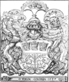 Kölner Wappen mit Löwe und Greif als Wappenhalter 1527.png