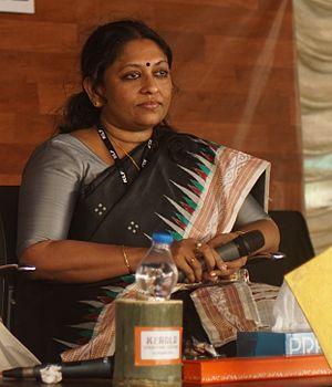 K. R. Meera - K.R. Meera at Kerala Literature Festival 2016