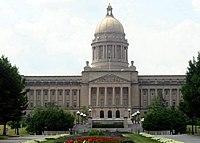 Edificio del  Kentucky State Capitol en Frankfort