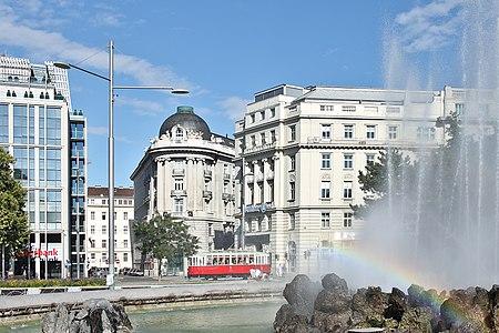 Scene at Hochstrahlbrunnen, Vienna