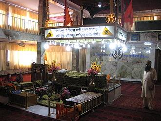 Sikhism in Afghanistan - Interior of Gurdwara Karte Parwan in Kabul