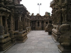 Kanchi Kailasanathar Temple - Temple view
