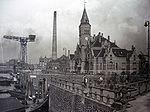 Le   Kaiser Wilhelm Hafen   à Hambourg en 1903