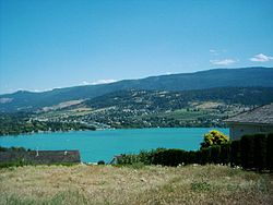 Kalamalka Lake and Coldstream