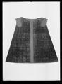 Kappa av svart mönstrad sammet, ca 1611-1632 - Livrustkammaren - 61932.tif