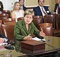 Kaptur testifies with Rep. Walter Jones (R-NC) on the need to reinstate Glass-Steagall (35019286072).jpg