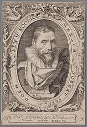 Portrait of Karel van Mander