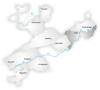 Olten District - Olten District, canton of Solothurn
