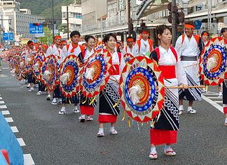 Shan-shan festival - Umbrella dance