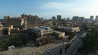 Kashgar - Id Kah mosque square