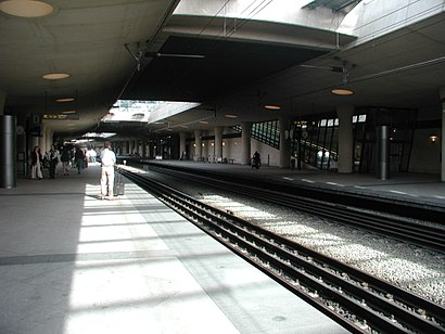 How to get to Københavns Lufthavne Kastrup with public transit - About the place