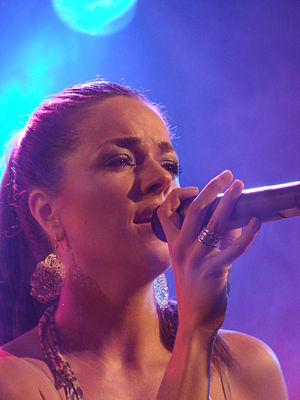 Kate Hall (singer) - Kate Hall at the Leipziger Stadtfest