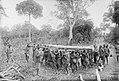 Kavirondo (BEA) porters of the 2nd Road Corps. Chikukwe Swamp, January 1918.jpg