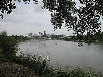Kaw Point - Kansas City, Missouri skyline from Kaw Point
