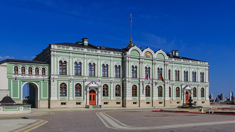 Kazan Kremlin Presidential Palace 08-2016