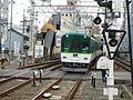 Keihan Korien Station platform - panoramio (25).jpg