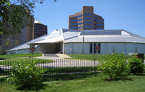 Gunnar Birkerts - Kemper Museum of Contemporary Art, Kansas City, Missouri, designed by Gunnar Birkerts, 1992–1994.