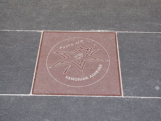 Kenojuak Ashevak - Ashevak's star on Canada's Walk of Fame.