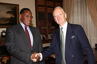 George Saitoti - Image: Kenya Minister of State for Provincial Administration & Internal Security (6375911923)