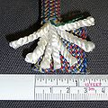 Kernmantle climbing rope dynamic Sterling 10.7mm internal yarns.jpg
