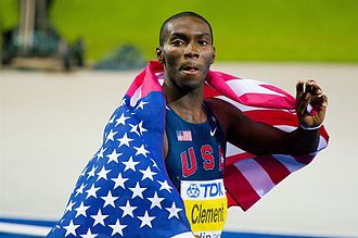 2009 World Championships in Athletics – Men's 400 metres hurdles - Kerron Clement retained his world title.